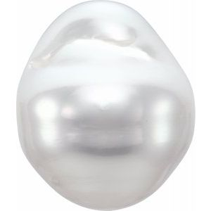 13-14 mm Ornamental Fashion White South Sea Cultured Pearl