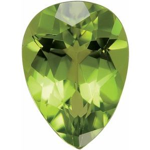 5x3 mm Pear Faceted AA Arizona Peridot
