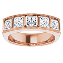 Load image into Gallery viewer, 14K Rose 2 5/8 CTW Diamond Men's Ring