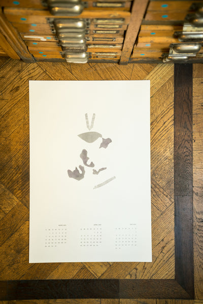 Diary 2021 Wall Calendar artworks