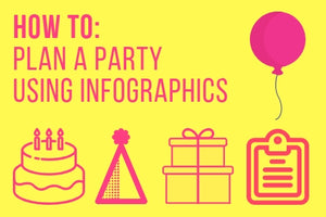 Party planning infographics - our top six to make party planning easy!
