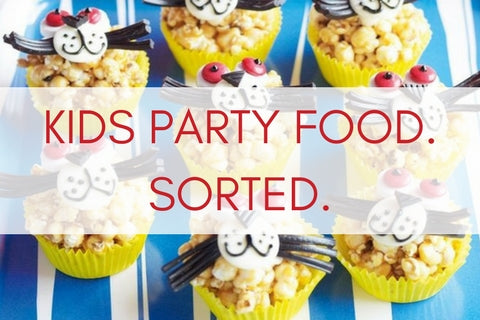 Super easy kids party recipes from Party Kit Company