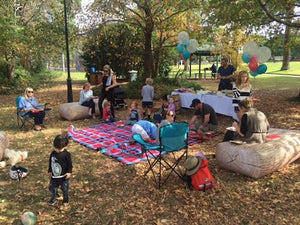 FEATURED PARTY - A day in the park for Lockie