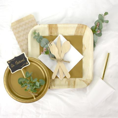 Custom Party Kit Creation: Natural Chic or Rustic Party Theme