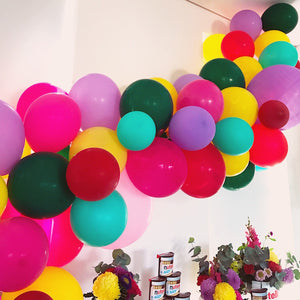 Party Decoration DIY: Simple Balloon Arch