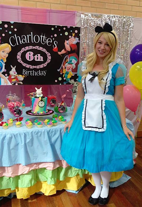 Alice in Wonderland Children's Party Entertainer
