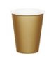 Gold party cups