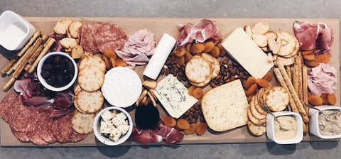 Party cheese board ideas from Party Kit Company