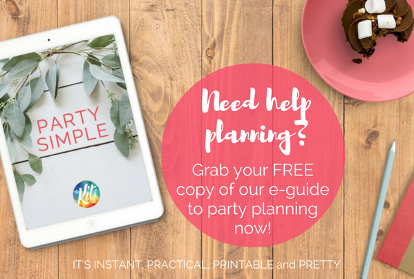 Party planning tips from The Kit Source