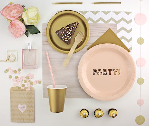 Pink and Gold Party Kit