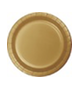 Gold party plates