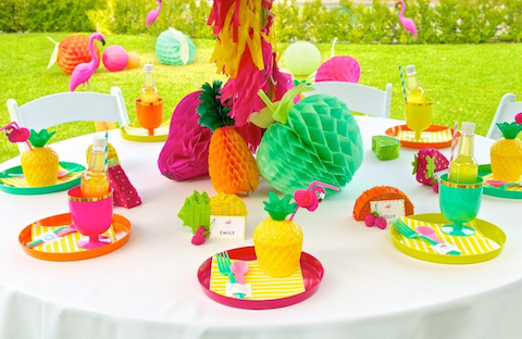 The TomKat Studio's Flamingo themed party