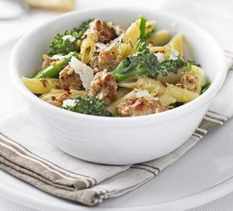 Italian Sausage and Broccolini Pasta