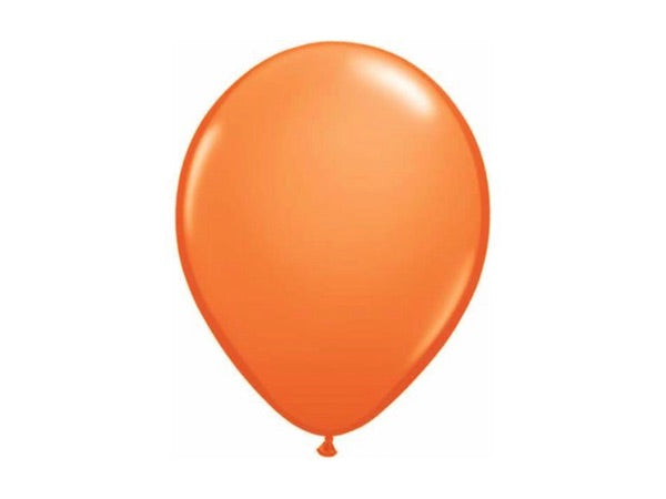 Orange Party balloons - 28cm (10pk)