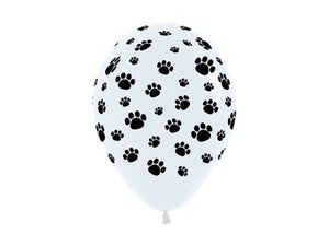 Puppy party balloons from Party Kit Company