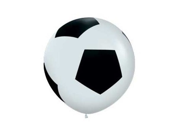 Soccer ball party balloons online | Soccer Party supplies from Party Kit Company Sydney