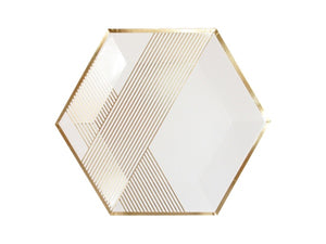 White and gold party supplies online Australia | Engagement party supplies