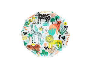 Into the Wild Safari themed party plates from Party Kit Company online Australia