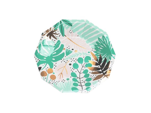 Tropicale Party plates | Tropicana party supplies online from Party Kit Company Australia