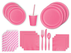 Pink party supplies Sydney from Party Kit Company online Australia