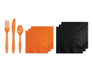 Black and orange Halloween Party supplies | Party in a Box online Australia | Party Kit Company