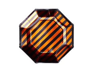 Black and Orange Halloween party plates and supplies online Australia
