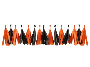 Tassel garland | Halloween party supplies and decorations Australia