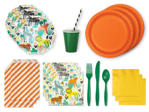 Safari themed party supplies online | Party Pack from Party Kit Company