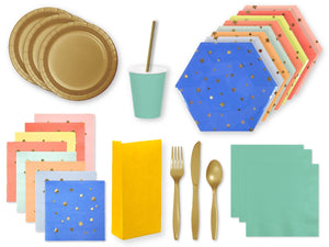 Jazzy Star themed party supplies online | Party Kit Company Australia