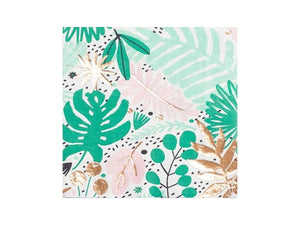 Boutique Tropical party napkins | Tropicana party theme online Australia from Party Kit Company