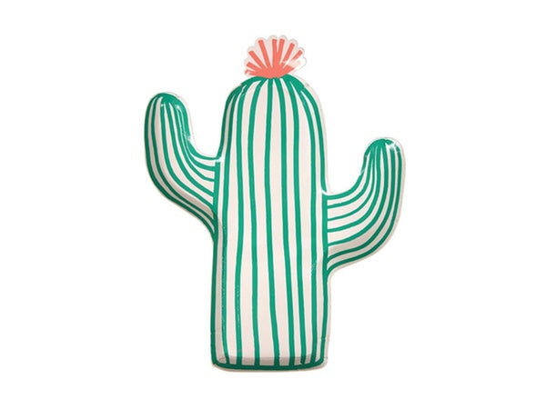 Cactus Fiesta themed party plates online | Party in a Box from Party Kit Company Sydney
