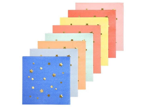 Jazzy Star cocktail napkins from Party Kit Company online Australia