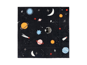Space themed party napkins from Party Kit Company online party store Australia