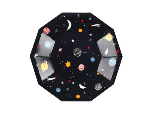 Space themed party plates from Meri Meri | Party Kit Company online party decorations supplies