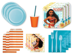 Moana themed party supplies | Party packs from Party Kit Company