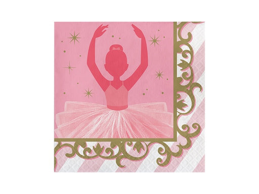 Ballerina Party Napkins | Ballet themed party supplies online Australia