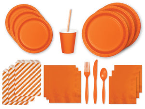 Orange party in a box | Party Kit Company Australia