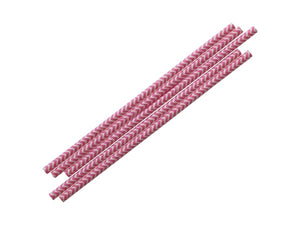 Pink party supplies Australia - pink paper straws