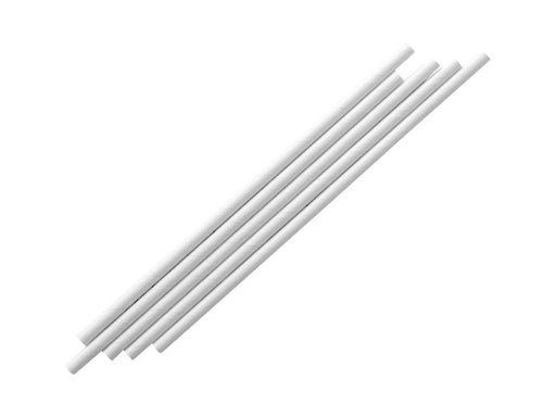 White party supplies party decorations online | White paper party straws