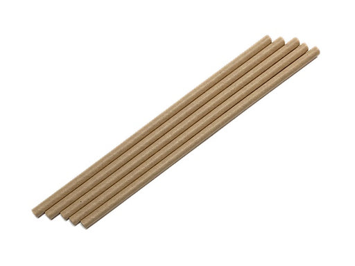 Kraft environmentally friendly paper party straws
