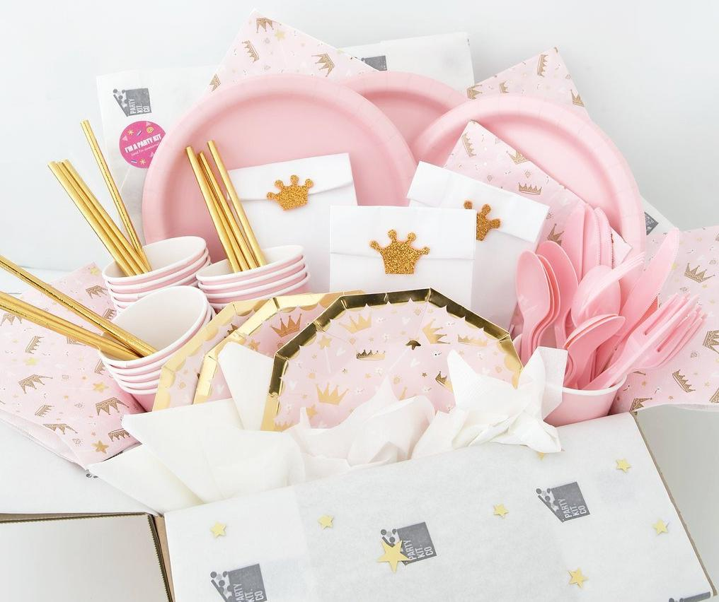 Sweet Princess Themed Party Party Kit Company Party Packs Party