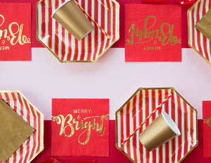 Christmas party table setting | Christmas party in a box online