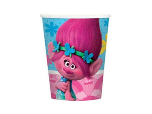 Trolls Party Cups from Party Kit Company