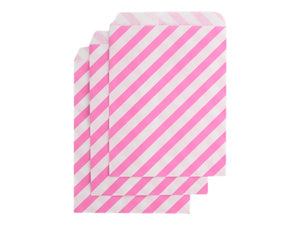 Candy pink party bags from Party Kit Company | Party packs online Australia