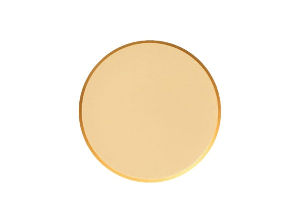 Metallic gold foil party plates | Anniversary party supplies online Australia