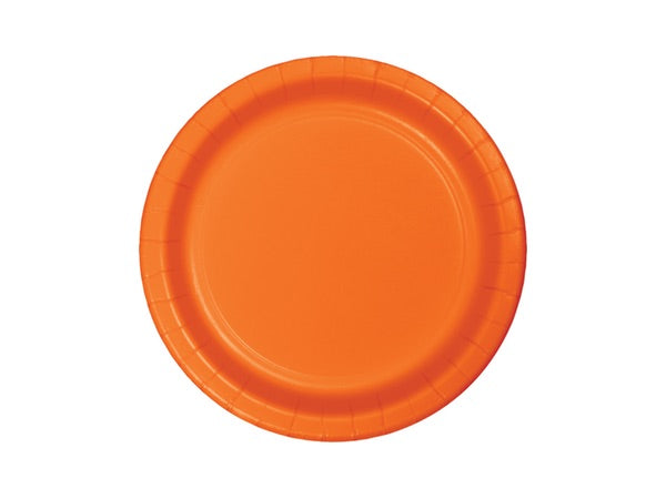 Orange party plates | Party supplies party decorations online Sydney