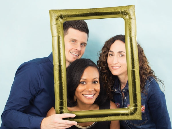 Antique Frame Photo Booth Prop