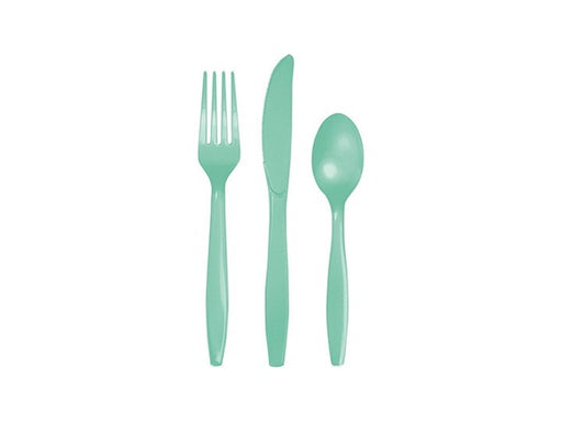 Mint Party Cutlery (18pk)