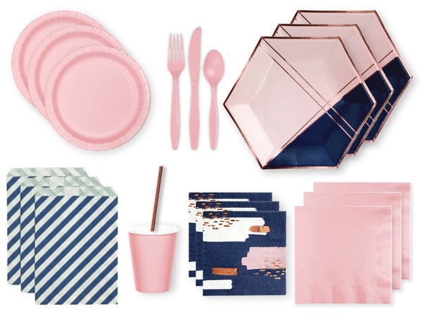 ROSE GOLD GLAM PARTY KIT | Engagement party supplies online Australia