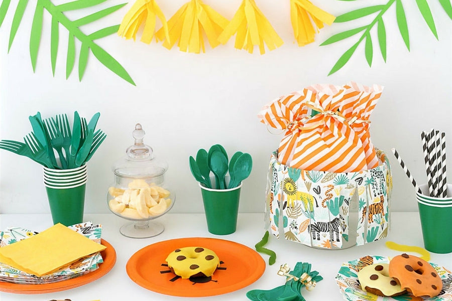 Jungle party inspiration online party Supplies Sydney